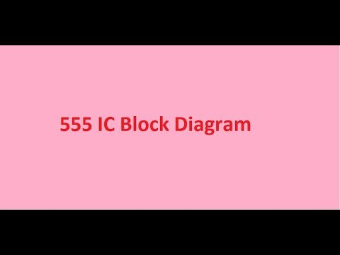 555 Ic Block Diagram Youtube