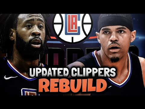 REBUILDING THE UPDATED LOS ANGELES CLIPPERS! NBA 2K18 MY LEAGUE!