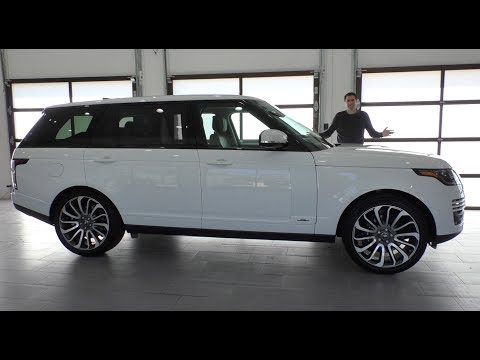 Here's Why the 2018 Range Rover Is Worth $125,000