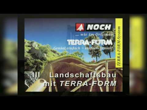 Modelleisenbahn Landschaftsbau mit Noch Terra-Form