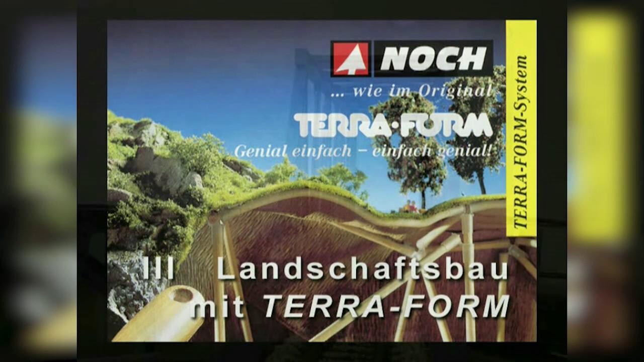 Modelleisenbahn Landschaftsbau Mit Noch Terra Form Youtube