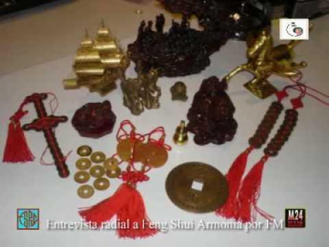 Parte 2º Entrevista Radial - para talismanes y amuletos Feng Shui.mpg