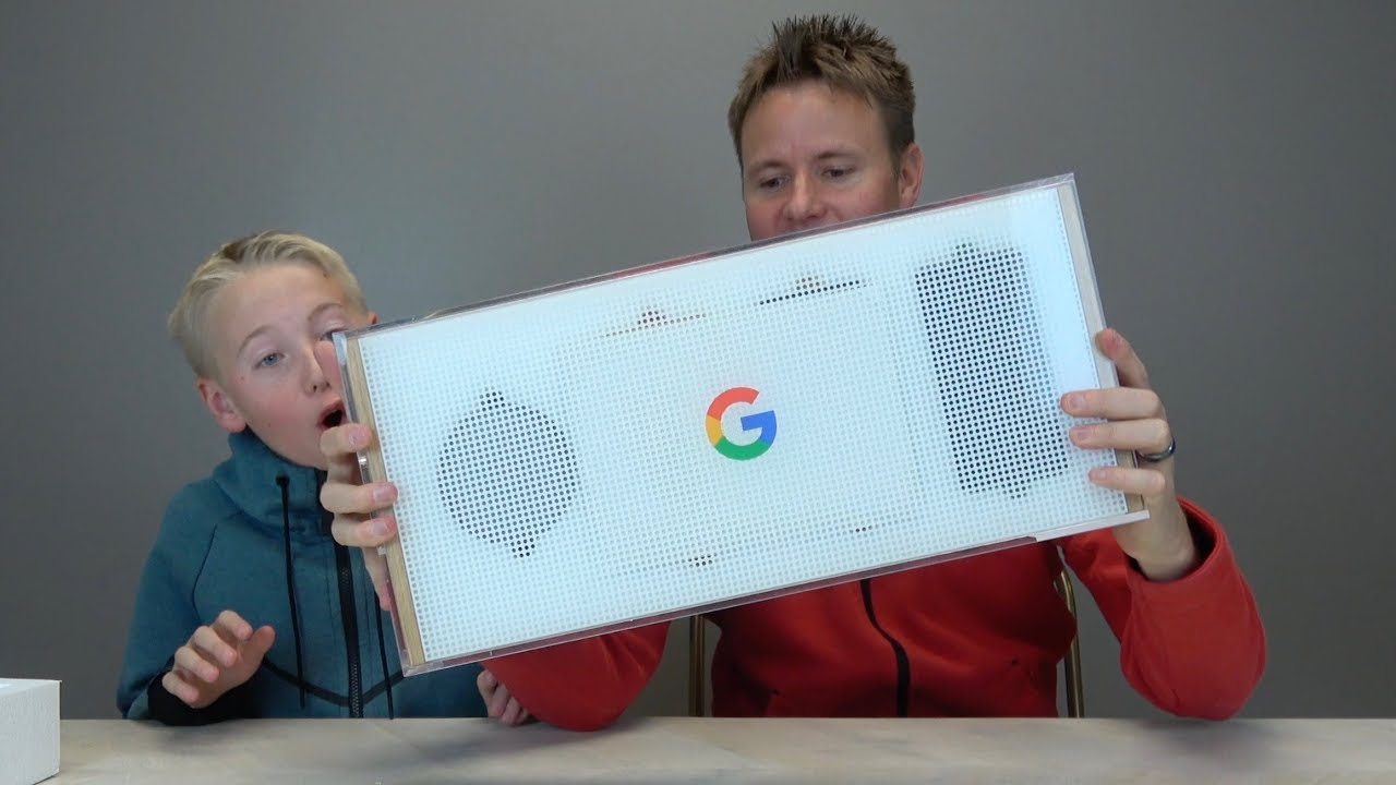 SURPRISE BOX FROM GOOGLE