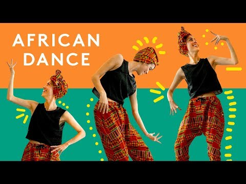 Lucie Fink Learns Traditional African Dance | Try Living With Lucie | Refinery29