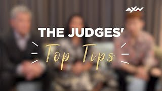 TOP TIPS From Our Judges | AXN Asia's Got Talent 2019