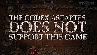The Codex Astartes Does Not Support This Game