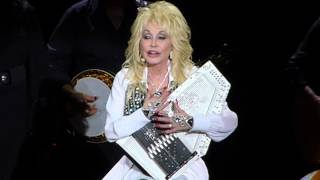 "Dolly Parton ""Coat of Many Colours"" Blue Smoke tour at AECC, Aberdeen 15th June 2014"