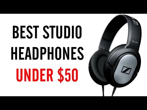 Best Studio Headphones Under $50 (2014)