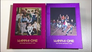 Video ♡Unboxing Wanna One 워너원 1st Album Repackage 1-1=0 Nothing Without You (Wanna & One Ver.)♡ download MP3, 3GP, MP4, WEBM, AVI, FLV Desember 2017