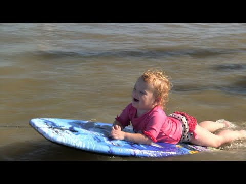 Relive The Busbys' Wet And Wild Trip to Galveston | OutDaughtered