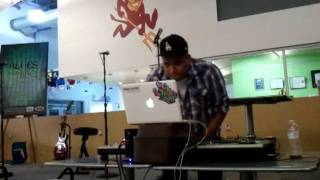 DJ JERMATIK AT ASU POLYTECHNIC CAMPUS UNION