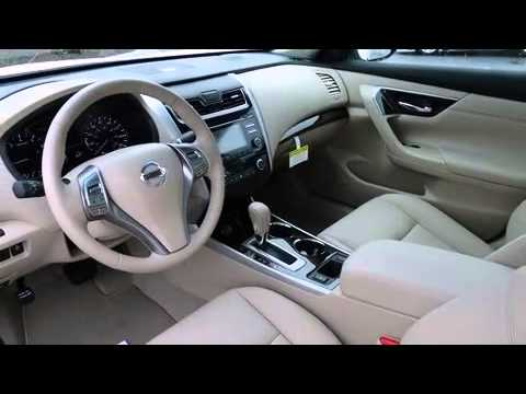 2014 Nissan Altima Sl Sunroof Leather Youtube