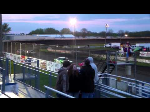 Stock Car Heat 3 @ Fairmont Raceway 04/29/16