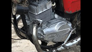 Двигатель Ява (Jawa) 350/638 тест 26.05.2020 после ремонта (г. Липецк)