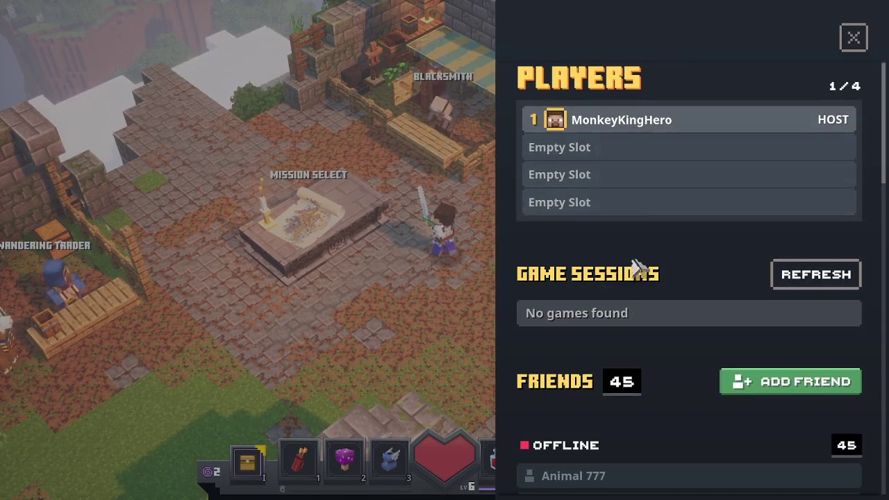 How to Play Local Co-Op, Invite Friends, and Online Multiplayer in  Minecraft Dungeons