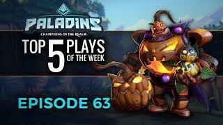 Paladins - Top 5 Plays #63