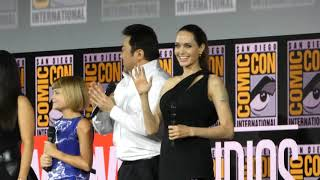 """""""Eternals"""" Panel - With Angelina Jolie and Salma Hayek - SDCC - 7-20-19"""