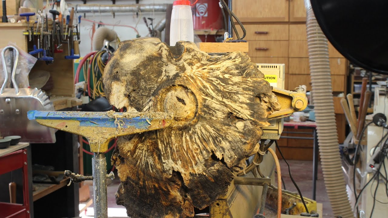 Stabilizing A Large Burl Woodturning With Sam Angelo