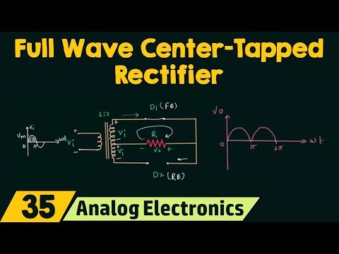 Full Wave Center-Tapped Rectifier