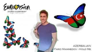 "Eurovision 2013 - AZERBAIJAN - Farid Mammadov - ""Hold Me"" (STUDIO VERSION)"