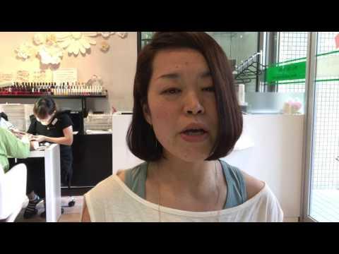 Nagoya Chikusaku Nail salon manicure English speaking (Aya in English)