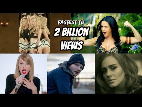 Top 20 Fastest Songs To Reach 2 Billion Views In YouTube History!! Mp3