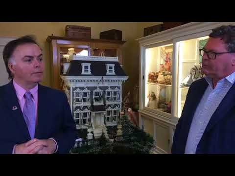 19th Century Dollhouse Tour | The Grovian Doll Museum