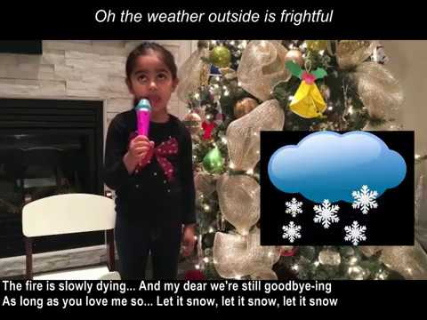 Christmas Song - Oh the weather outside is frightful