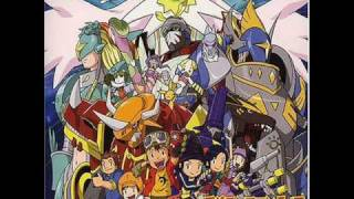digimon frontier (evolution-theme)
