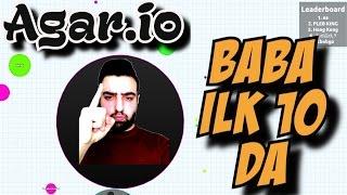 Agar.io Türkçe | Ilk 10 da Babo | Bizde ortam böyle | PC