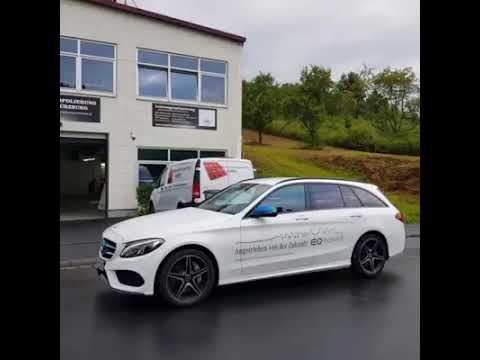 EQ Flotte von Mercedes Benz Mainfranken Elektromobilität