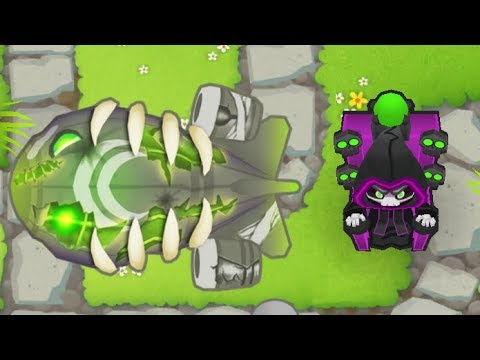 Bloons Tower Defense 6 NEW Tier 5 Wizard Upgrade - Prince of Darkness