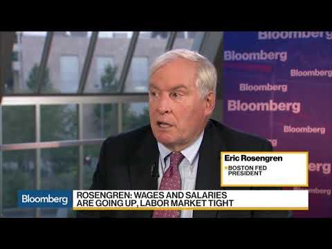 Fed's Rosengren on Inflation, Labor Market, Wages