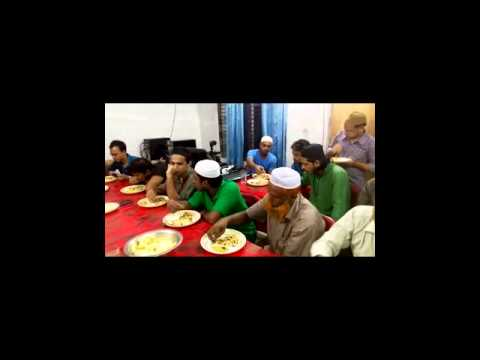Ifter at RR Foundation with Rasel Ahmed