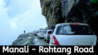 Manali To Rohtang Pass Road Trip - Part 2 | Permit Issue | Manali Wheather | #vlog #rohtang #manali