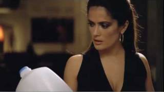 Salma Hayek Frantically Searches For Milk