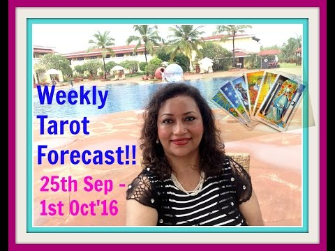 WEEKLY TAROT FORECAST ( 25th Sep-1st Oct'16)