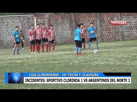 5 RESUMEN FUTBOL SPORTIVO CLORINDA VS ARGENTINOS DEL NORTE