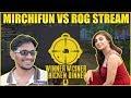 MirchiFun Vs Rog Stream Fight In Bridge   Rog Stream In Same Match   MYT Clan Pubg Game Play