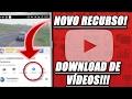 Como Ver Vídeos Offline No YouTube Pelo App Oficial | NOVO RECURSO DO APP MOBILE!!!!