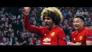 Marouane Fellaini - Man of Steel amp Master of Chest Control - Manchester United 2016-2017 Overall