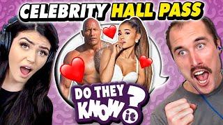 Do Couples Know Their Celebrity Hall Pass? (The Rock, Ariana Grande, Rihanna)