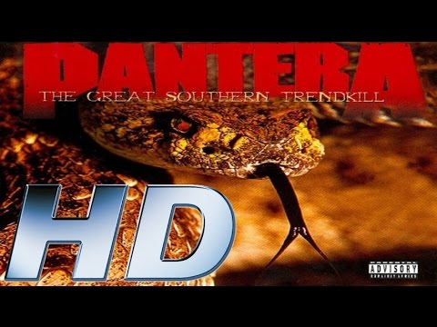 Full Album - PanterA - The Great Southern Trendkill - HD AUDIO (REMASTERED)