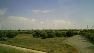 Spanish wind farm, wind power in spain, wind turbines