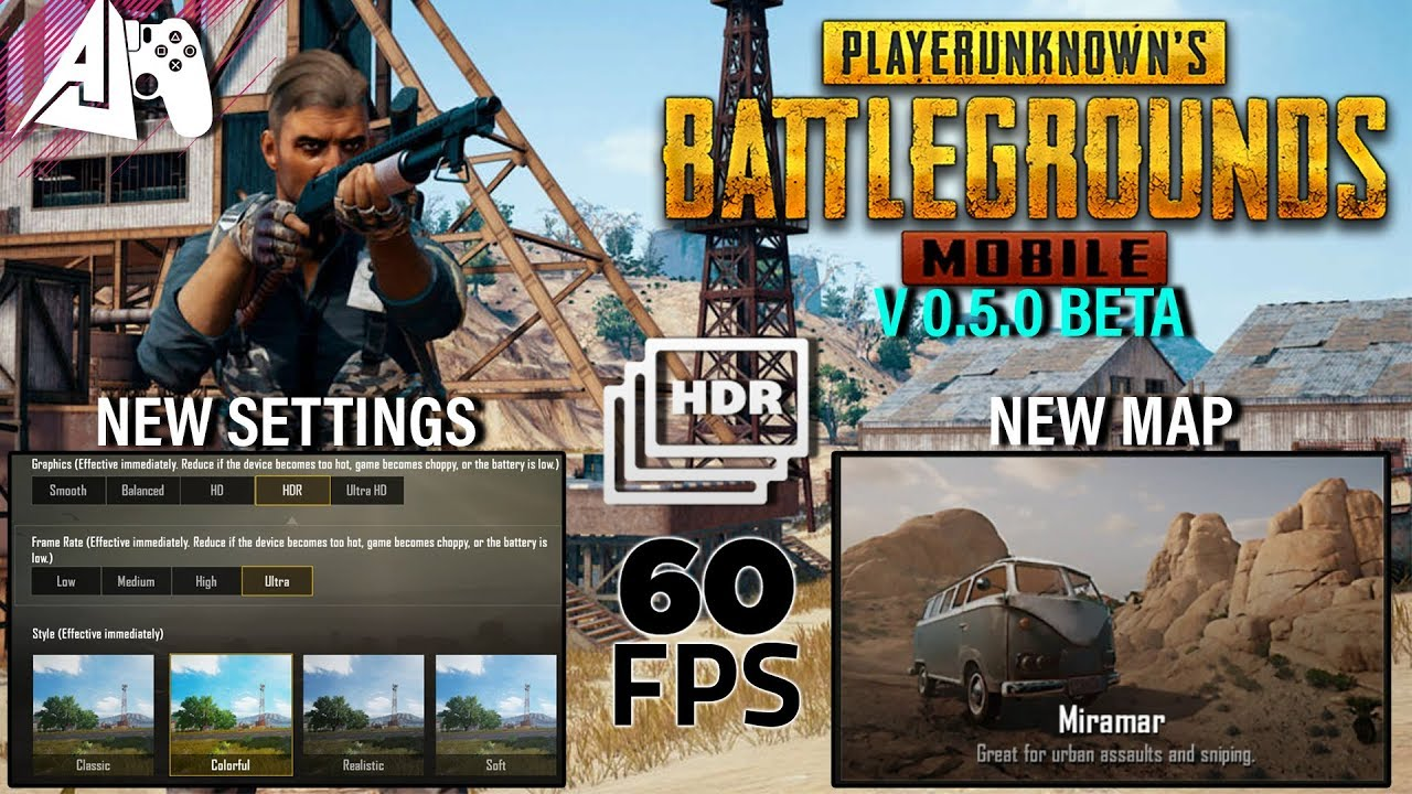 pubg mobile new update 0.5 download