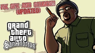 [UPDATE] How To Fix Cutscene Voices, Music, and Pedestrian Voices in GTA SA