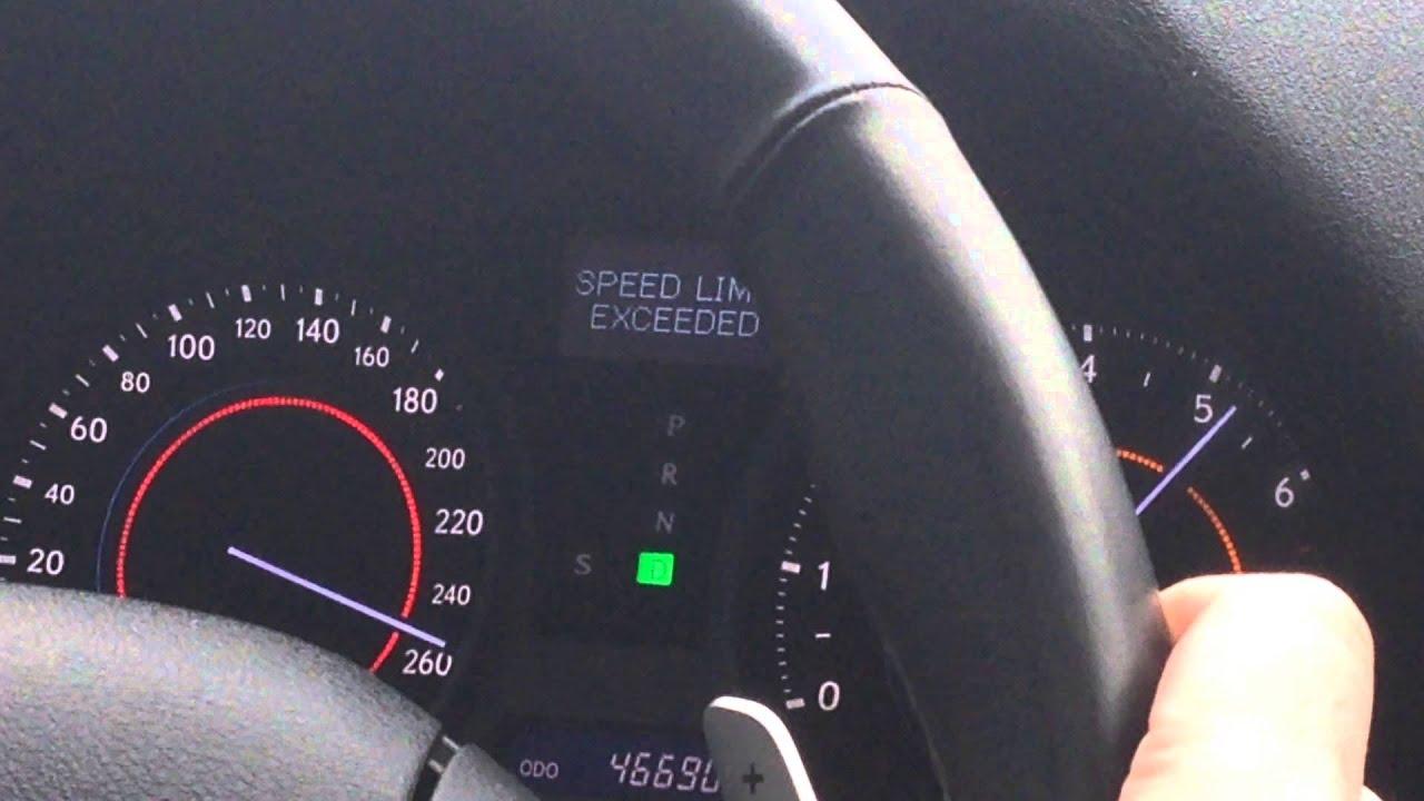 Lexus IS 300 top speed