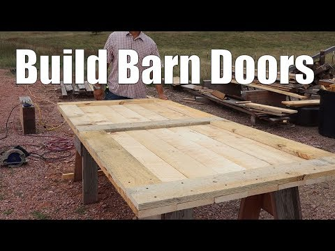 building-barn-doors-for-the-timber-frame