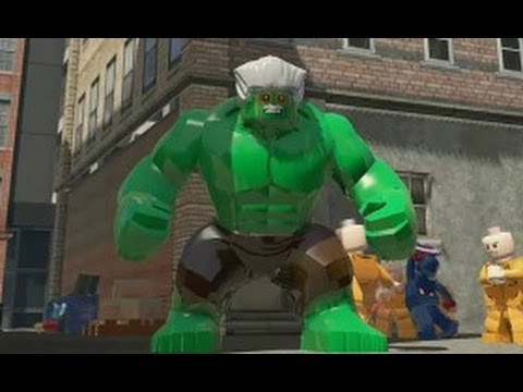 Lego Marvel Super Heroes All Big Fig Special Moves Ps4 Youtube