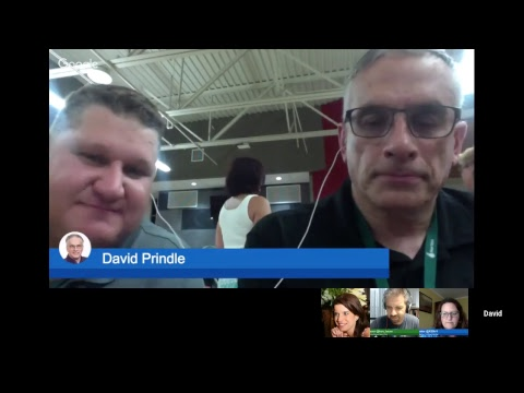 VConnecting at ILfabCon Friday with Matthew Moore and David Walsh